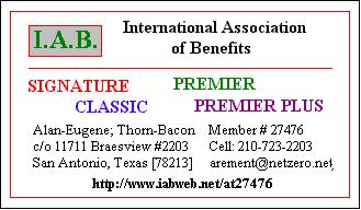 International Association of Benefits